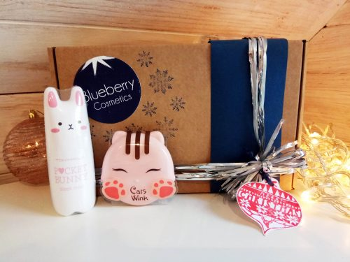 Blueberry Cosmetics Pack Navidad Pocket Bunny Cat