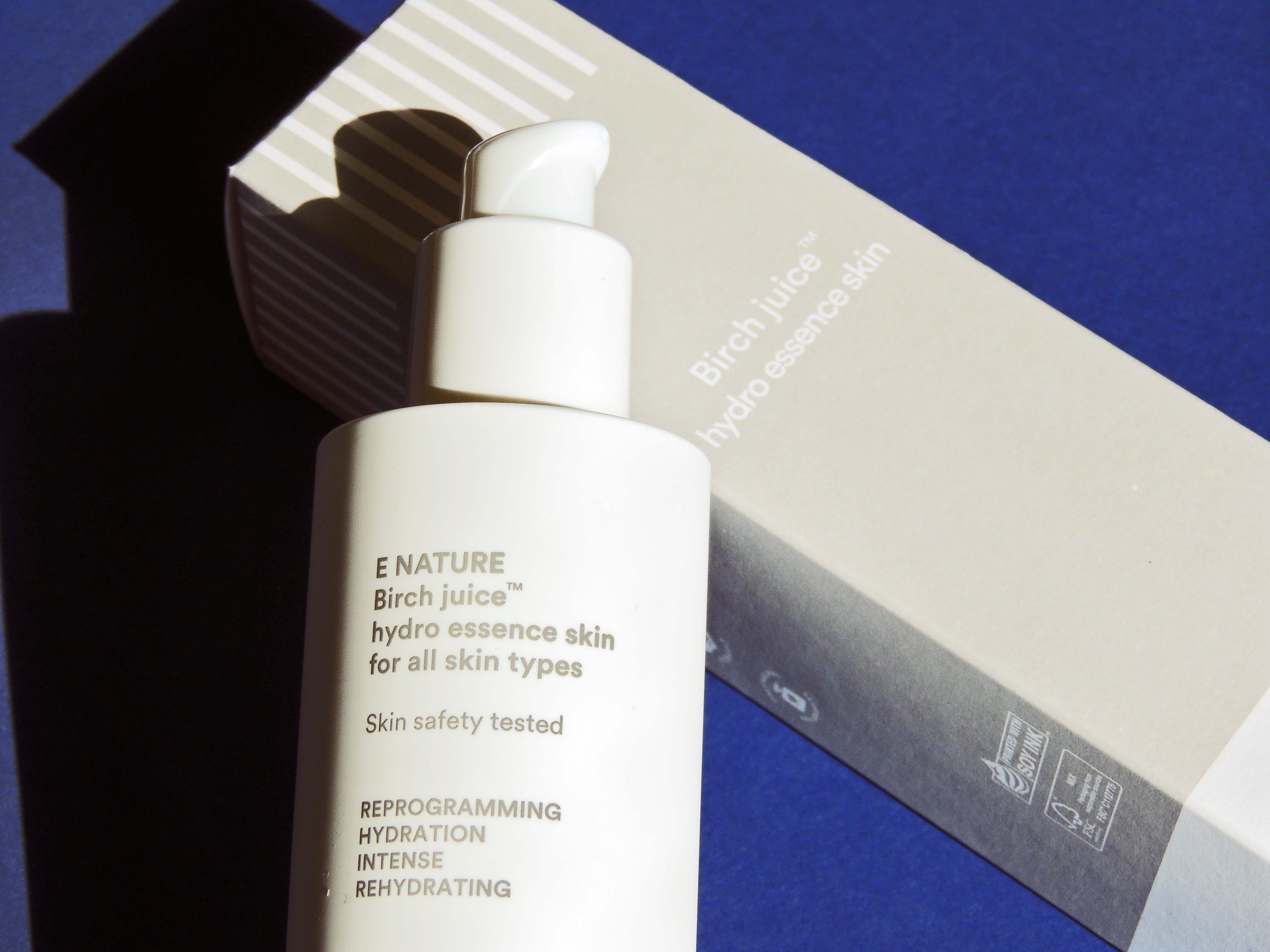 E Nature Birch Juice Hydro Essence Skin Blueberry Cosmetics 2