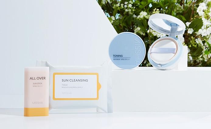 Missha Sun Care Blueberry Cosmetics