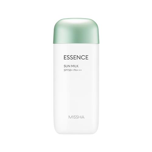 Tendencias en cosmética coreana Missha Essence sun milk 2018