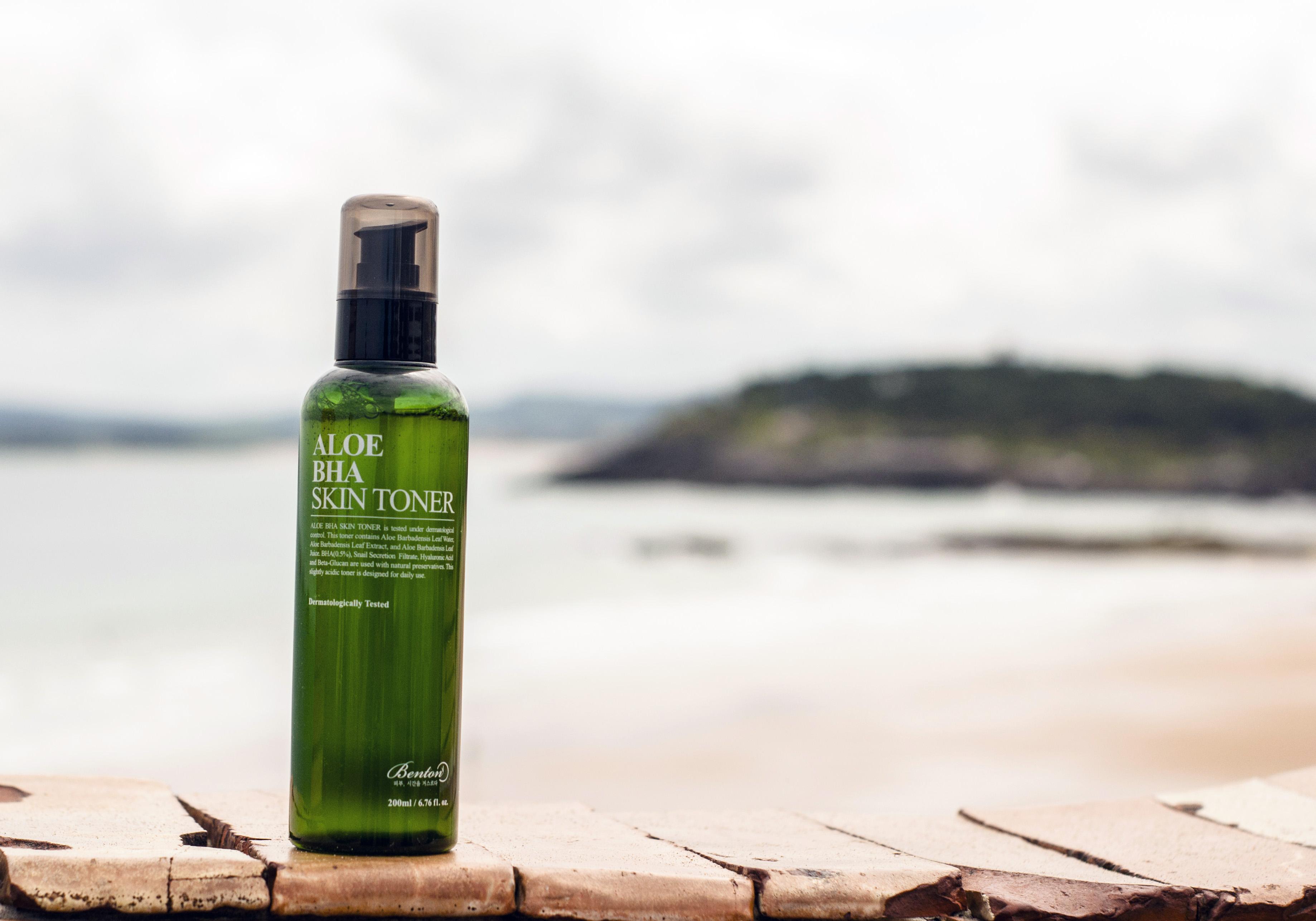 Benton Aloe BHA Skin Toner Blueberry Cosmetics cosméticos de textura ligera ácidos para el cuidado de la piel