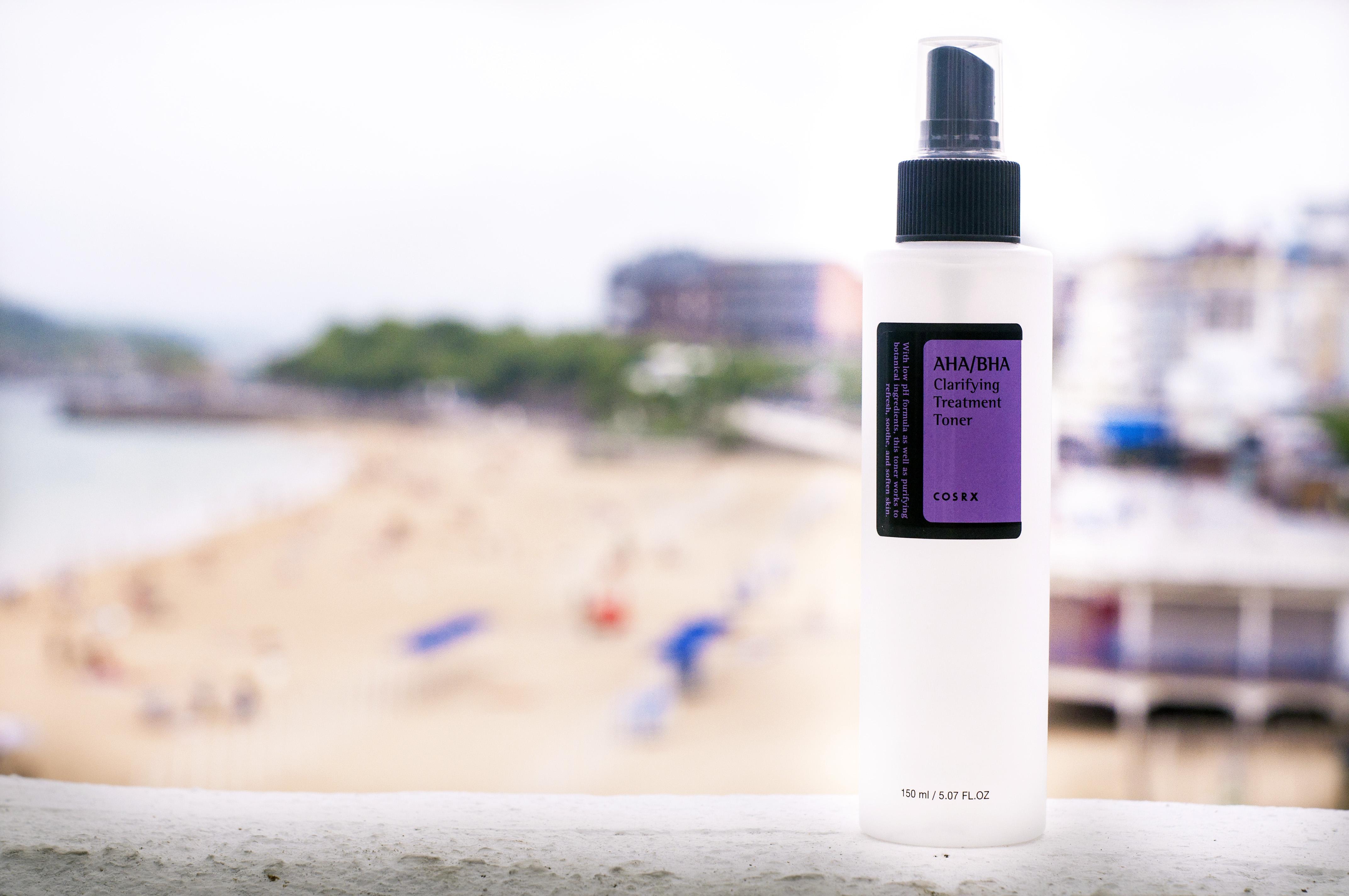 COSRX AHA/BHA Clarifying Treatment Toner Blueberry Cosmetics ácidos para el cuidado de la piel