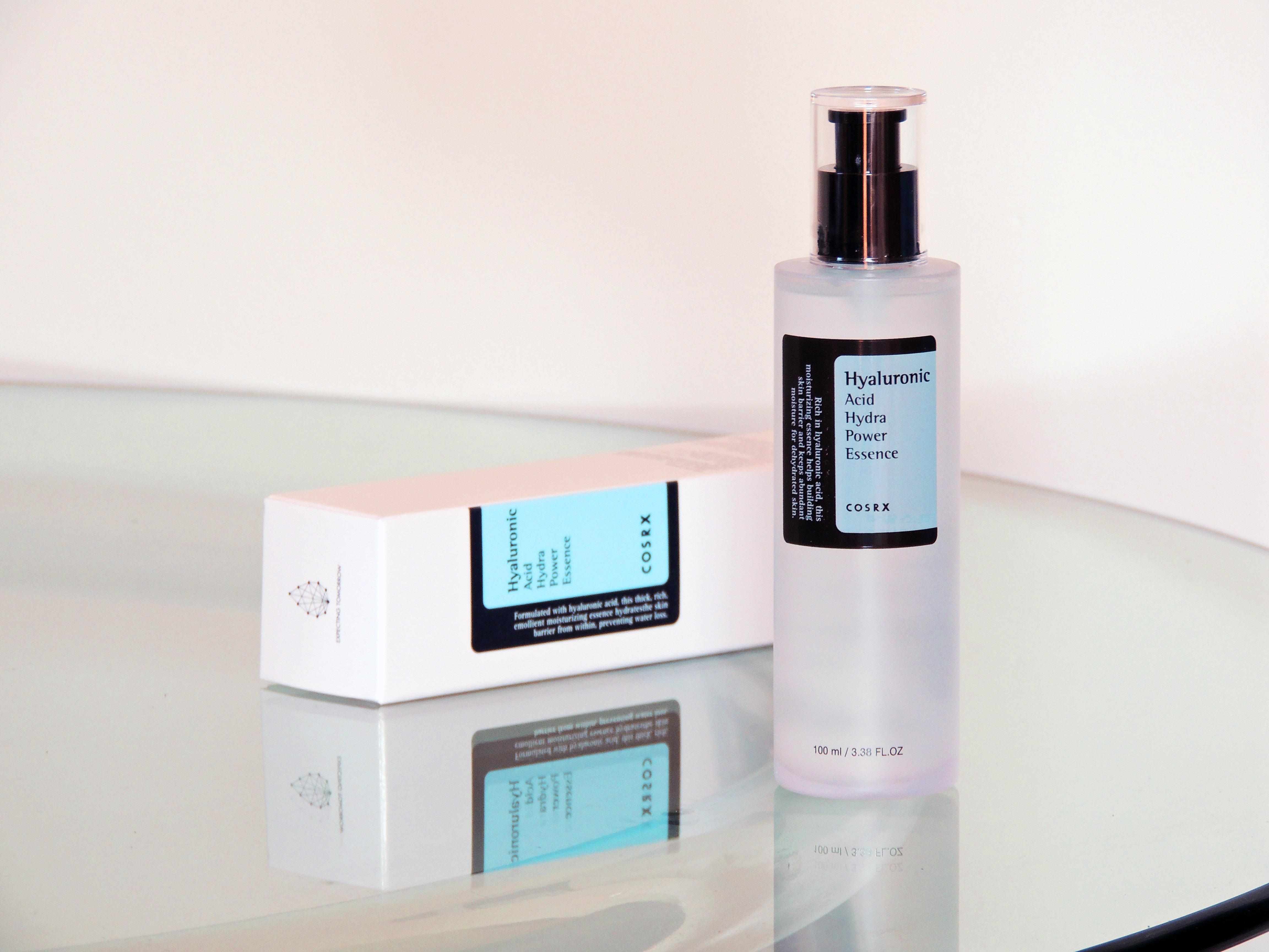 COSRX hyaluronic acid hydra power essence ácidos para el cuidado de la piel Blueberry Cosmetics