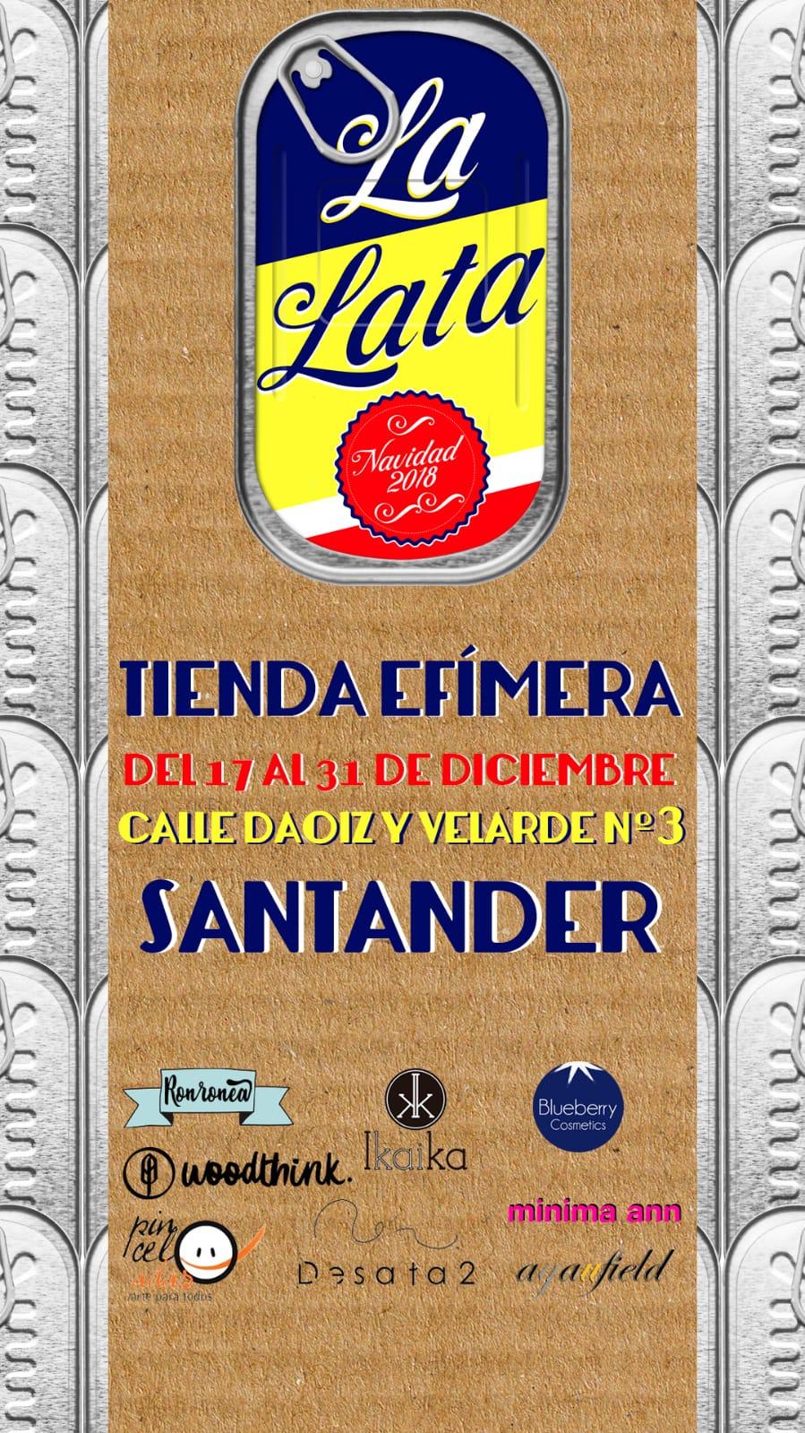 La Lata Tienda Efímera Santander