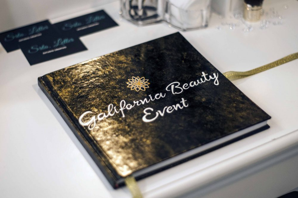 Blueberry Cosmetics Galifornia Beauty Event